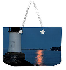 Moon Over Winter Island Salem Ma Weekender Tote Bag