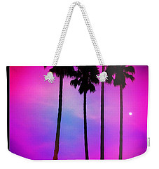 Moon Palms Weekender Tote Bag