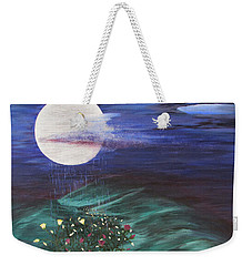 Moon Showers Weekender Tote Bag by Cheryl Bailey