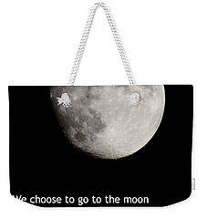 Moon Speech Weekender Tote Bag
