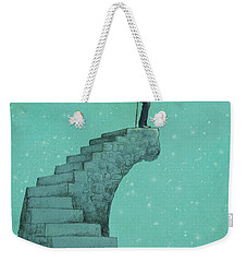 Moon Steps Weekender Tote Bag