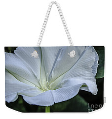 Moonflower 1 Weekender Tote Bag