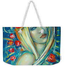 Moonlight Flowers 030311 Weekender Tote Bag