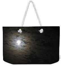 Weekender Tote Bag featuring the photograph Moonlight by Marilyn Wilson