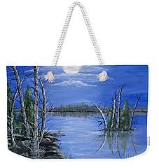 Moonlight Mist Weekender Tote Bag by Brenda Brown