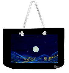 Moonlight. Winter Collection Weekender Tote Bag