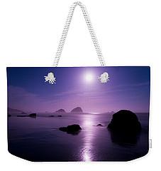 Moonlight Reflection Weekender Tote Bag