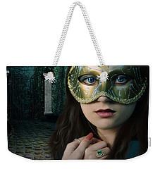 Moonlight Rendezvous Weekender Tote Bag