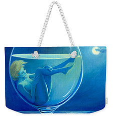 Moonlight Rendezvous Weekender Tote Bag