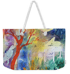 Moonlight Serenade Weekender Tote Bag by Robin Maria Pedrero