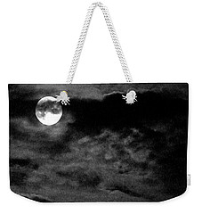 Moonlit Clouds Weekender Tote Bag