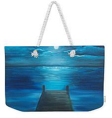 Moonlit Dock Weekender Tote Bag