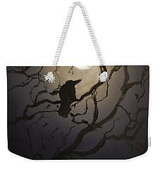 Moonlit Perch Weekender Tote Bag