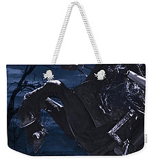 Moonlit Warrior Weekender Tote Bag by Wes and Dotty Weber