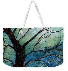 Moonrise In The Wild Night Weekender Tote Bag