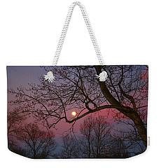 Moonrise Weekender Tote Bag by Kathryn Meyer