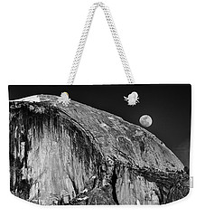 Moonrise Over Half Dome Weekender Tote Bag