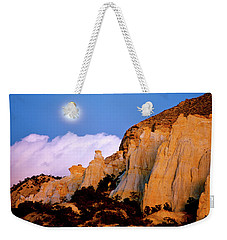 Moonrise Over The Kaiparowits Plateau Utah Weekender Tote Bag
