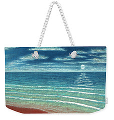 Moonset C Weekender Tote Bag