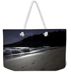 Weekender Tote Bag featuring the photograph Moonshine Beach by Brent L Ander