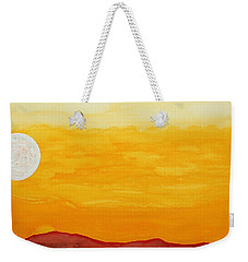 Moonshine Original Painting Sold Weekender Tote Bag