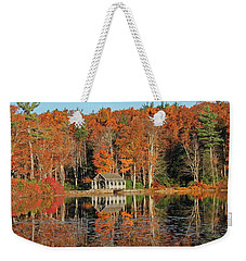 Moore State Park Autumn I Weekender Tote Bag