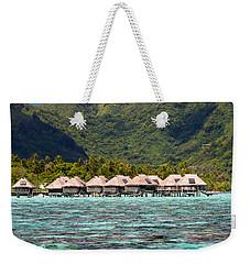 Moorea Lagoon No 3 Weekender Tote Bag