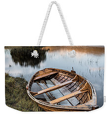 Moored On Loch Awe Weekender Tote Bag