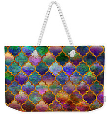 Moorish Mosaic Weekender Tote Bag by Lilia D