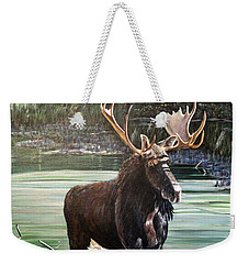 Moose County Weekender Tote Bag