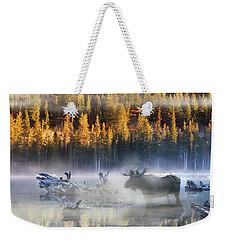 Moose Lake Weekender Tote Bag