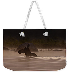 Moose Swim Weekender Tote Bag