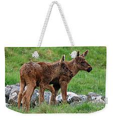Twin Moose  Weekender Tote Bag by Phil Banks