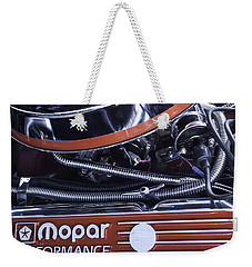 Mopar Performance - Super Bee 1969 Weekender Tote Bag by Steven Milner