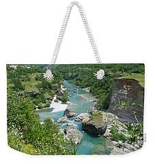 Moraca River - Montenegro Weekender Tote Bag