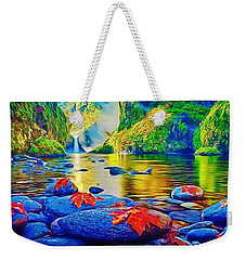 More Realistic Version Weekender Tote Bag