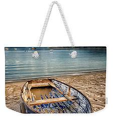 Morfa Nefyn Boat Weekender Tote Bag