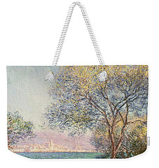 Morning At Antibes Weekender Tote Bag