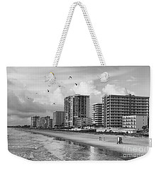 Morning At Daytona Beach Weekender Tote Bag