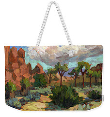Morning At Joshua Weekender Tote Bag
