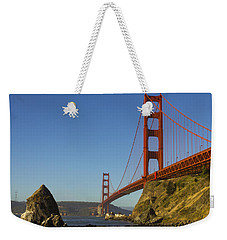 Morning At The Golden Gate Weekender Tote Bag