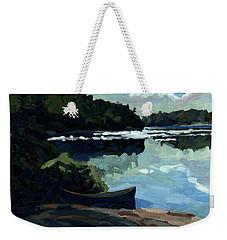 Morning Beach Weekender Tote Bag