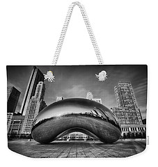 Morning Bean In Black And White Weekender Tote Bag