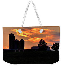 Morning Blush Weekender Tote Bag by Robert Geary