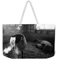 Morning Breath 1 Weekender Tote Bag