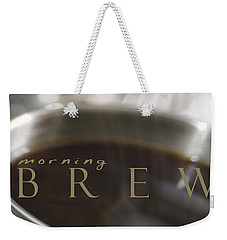 Morning Brew Weekender Tote Bag
