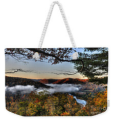 Morning Cheat River Valley Weekender Tote Bag