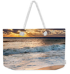 Morning Clouds Square Weekender Tote Bag by Bill Wakeley