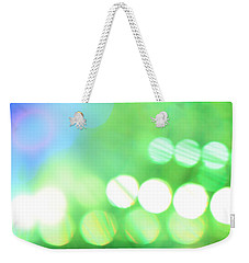 Weekender Tote Bag featuring the photograph Morning Dew by Dazzle Zazz