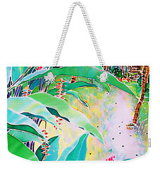 Morning Dew Weekender Tote Bag